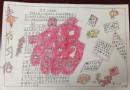 小学五年级春节习俗手抄报