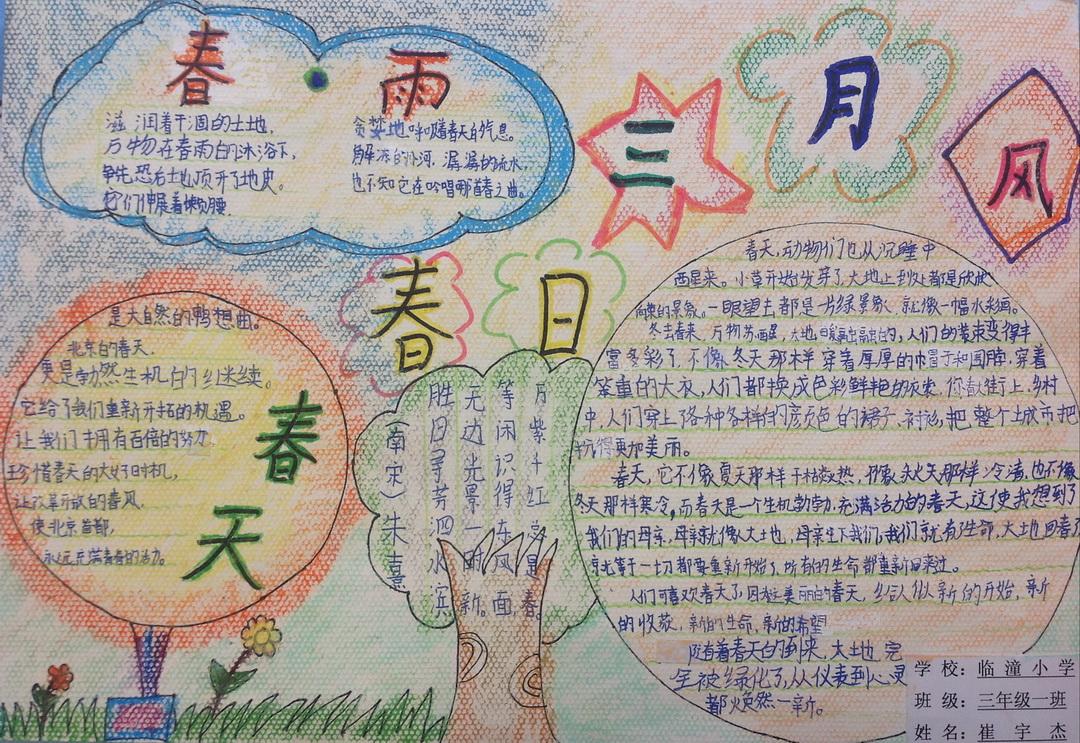 推广普通话 共筑中国梦手抄报图片版面设计图