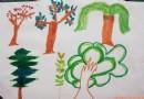 植树节素材版面设计图