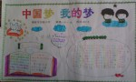 小学生中国梦我的梦手抄报内容