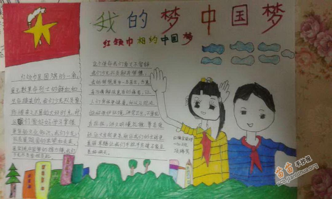 小学生中国梦我的梦手抄报资料