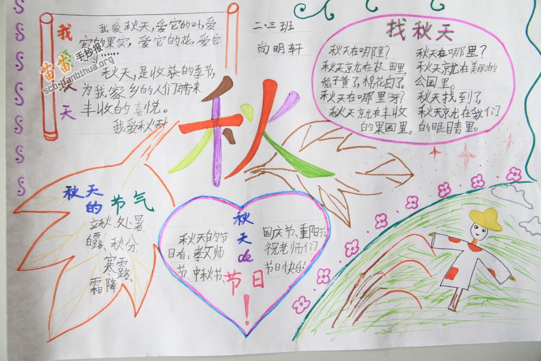 苗苗手抄报 秋天手抄报 >> 正文内容   立秋 立秋是二十四节气中的第1