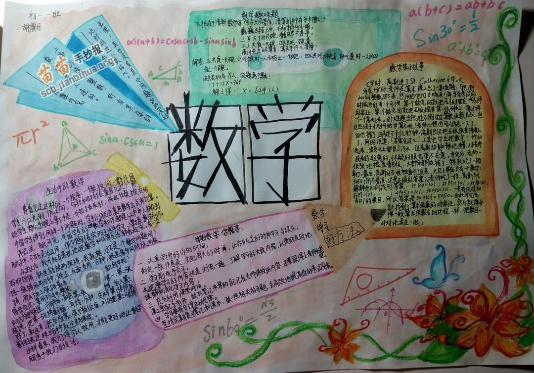 数学手抄报 >> 正文内容   一 预习,听课,复习,作业的方法与数学课堂