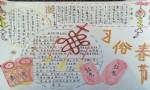 春节习俗手抄报图片大全、资料
