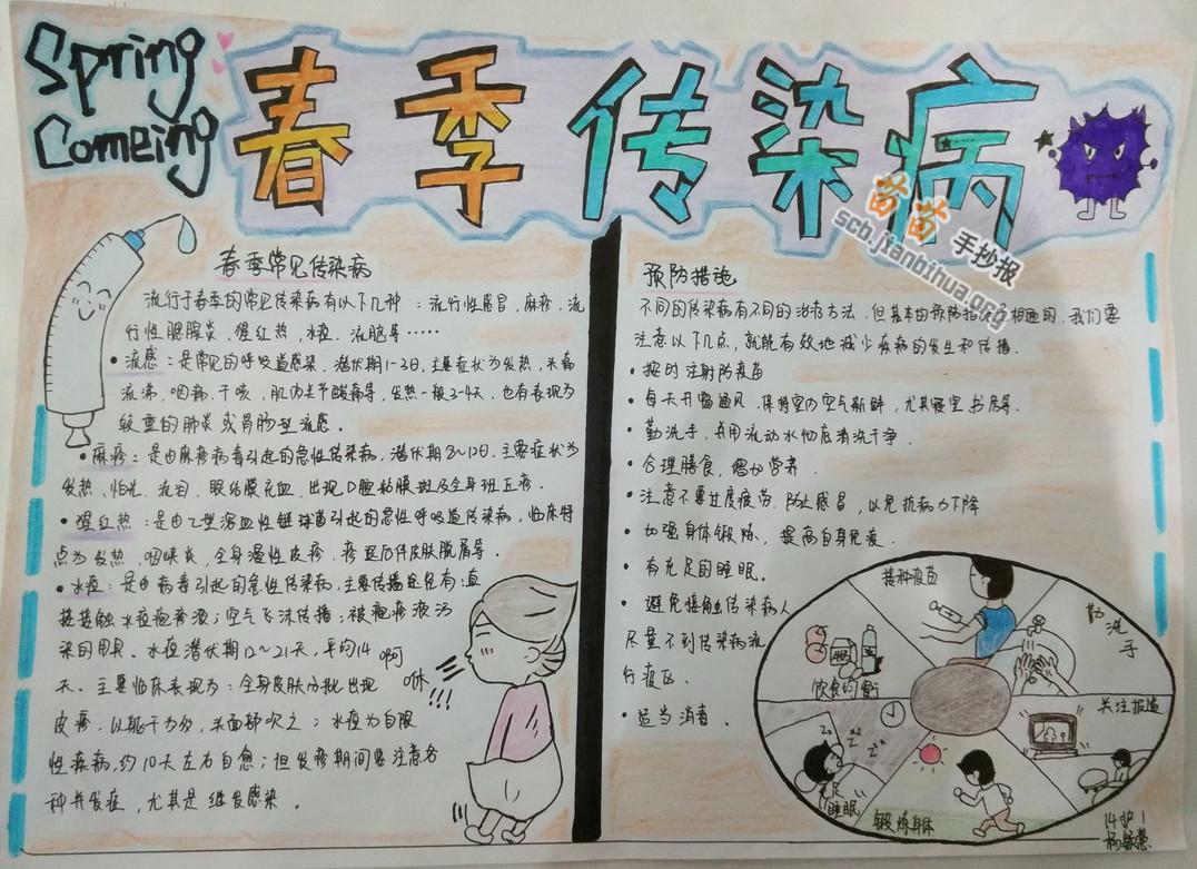 苗苗手抄报 小学生手抄报 >> 正文内容   春季传染病手抄报资料: 麻疹
