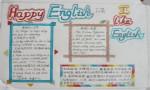 HappyEnglish快乐英语手抄报图片大全、资料