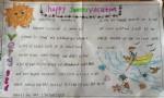 happysummervacation英语手抄报图片大全、内容
