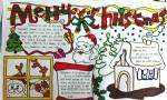 MerryChristmas圣诞快乐英语手抄报图片大全、资