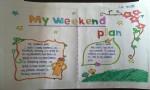 myweekendplan我的周末计划英语手抄报图片大全