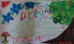 我的梦想英语手抄报图片,内容