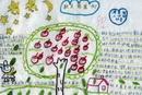 二年级秋天的果树手抄报