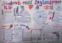 小学读英语手抄报图片