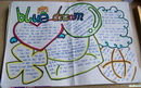三年级英语手抄报版面设计图