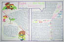四年级英语手抄报资料