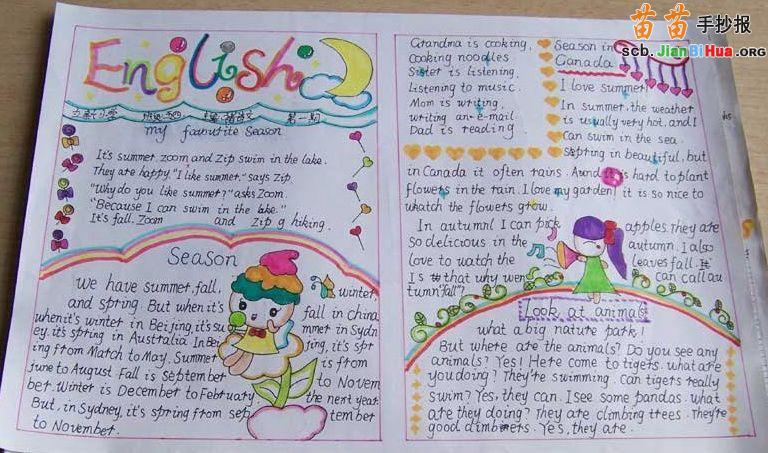 四年级英语自我介绍和英语故事-一份英语自我介绍