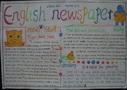 小学生英语报纸手抄报