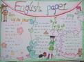 小学生英语手抄报模板