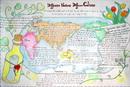 地理英语手抄报图片