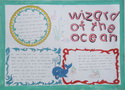Wizardoftheocean精灵的海洋英语手抄报