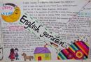 英语花园手抄报