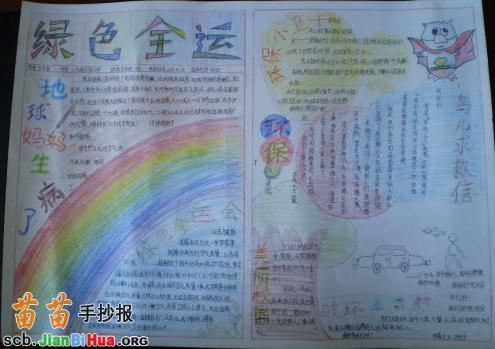 六一儿童节手抄报画 61儿童节手抄报 六一儿童节手抄报画