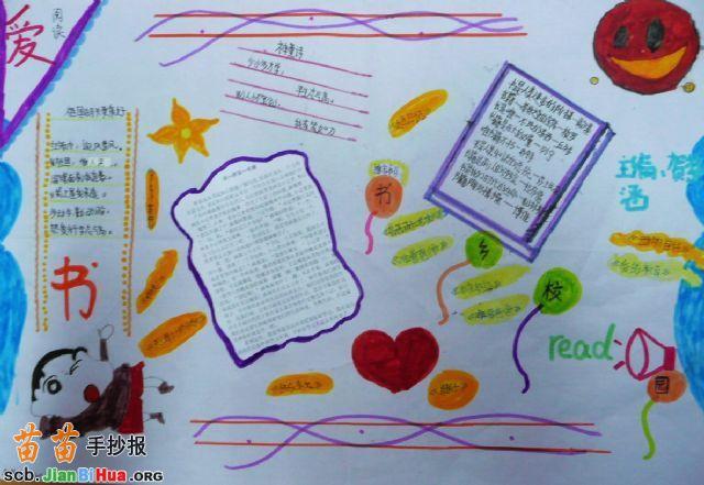 小学生我爱童话手抄报图片,科学知识手抄报,《数学家:陈省身》手抄报