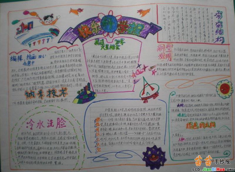 小学生文明礼仪手抄报内容_乐乐简笔画