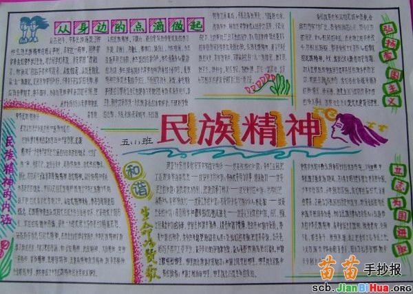 传统文化手抄报内容图片