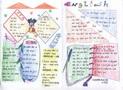 小学生英语手抄报设计图